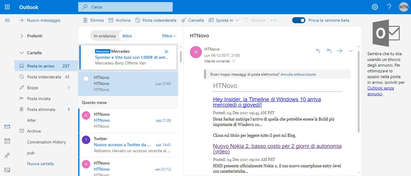 Outlook-pubblicità-posta-in-arrivo