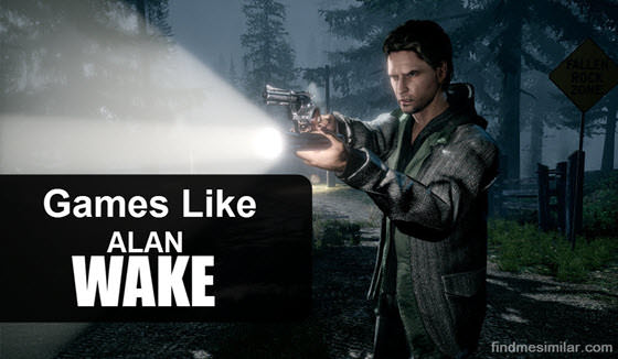 Games Like Alan Wake, Alan Wake game poster