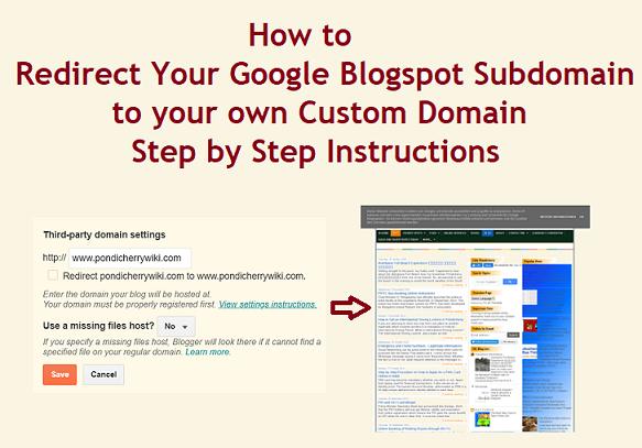 blogger domain