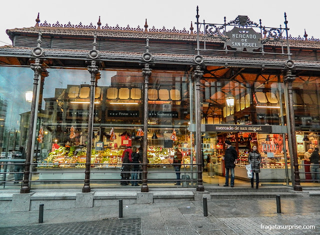 Mercado de San Miguel, Madri
