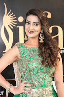 Manjusha in Beautiful Sleeveless Green Anarkali dress at IIFA Utsavam Awards 89.JPG