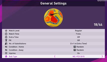PES 2020 PC Değişik Yeni Toplar Yaması İndir (Ball Patch)