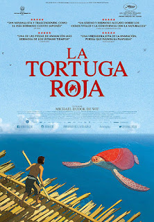 Cartel oficial español: La tortuga roja (2016)