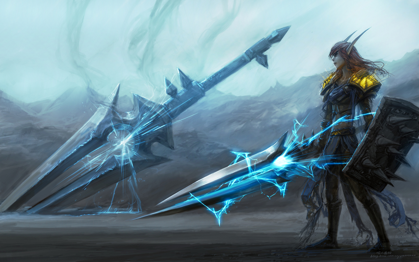 Video Game Gallery World Of Warcraft Blood Elf Paladin Wallpaper