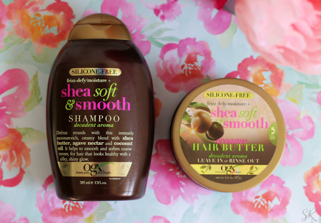 OXG shampoo and conditioner