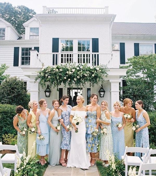 mini wedding vestidos para madrinhas de casamento