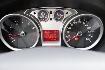 607 km To Go On a Full Tank 2008 Ford Focus 1.6l