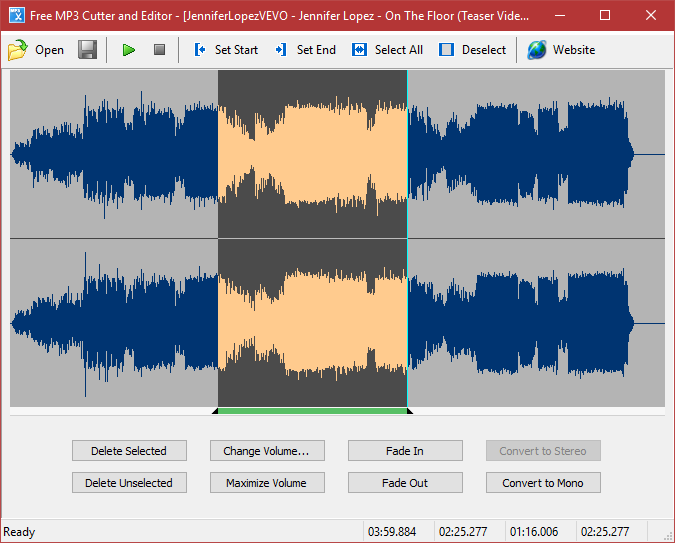 Free MP3 Cutter and Editor 2 8 0 1610 Portable | Cortar y