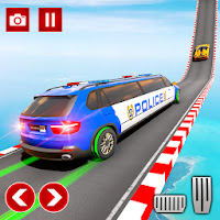 Police Limo Car Stunts GT Racing: Ramp Car Stunt Apk free for Android