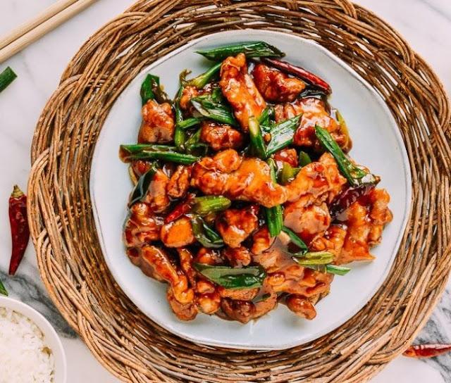 Mongolian Chicken #dinner #maindish