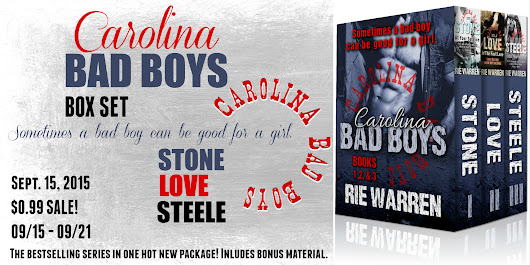 Release Day & Giveaway & Sale: Carolina Bad Boys Box Set by Rie Warren...