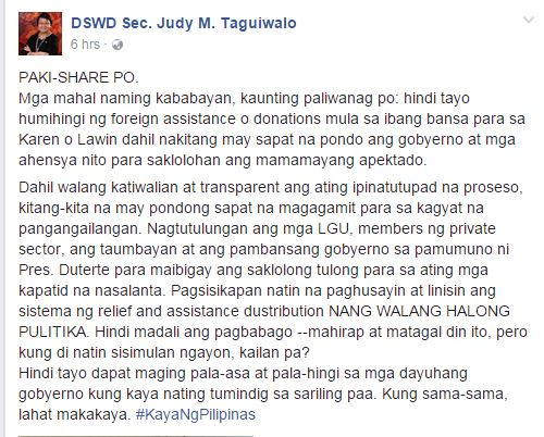 Duterte Got Slammed By Bashers After No Foreign Aid Was Received For 'LAWIN' Victims! Find Out The Whole Story Here!