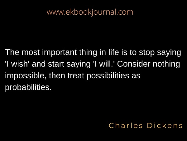 Charles Dickens Inspirational Quotes