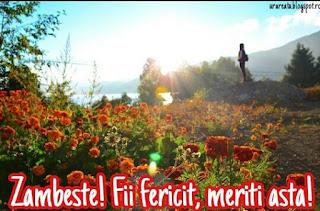 mesaj incurajare flori