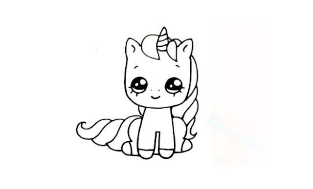 dibujar unicornios bebés