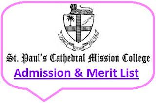 SPCMC Merit List