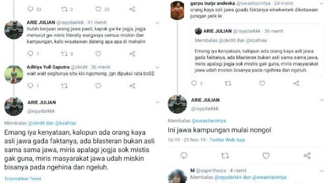 Hina Jogja di Medsos, Akun Twitter Ini Dilaporkan ke Polda DIY