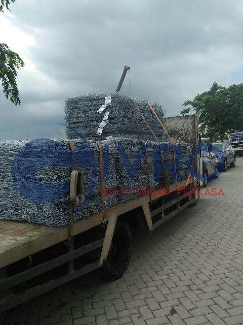Kawat Bronjong Galvanis Jakarta Timur Pabrik GIVRO