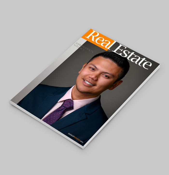 Real Estate Headshots for Business Cards for Realtors Printed Brochure