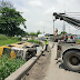 29 passengers rescued after commercial bus plunges into a canal in Lagos