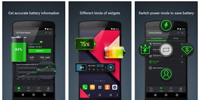 Go Battery Saver & Power Widget Aplikasi Gratis Pengirit Baterai Android Terbaik
