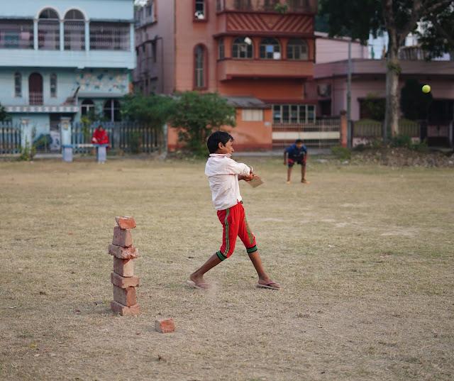 Nephew Rick Playing Cricket 5