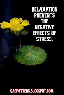Relaxation prevents the negative effects of stress.