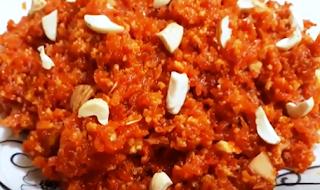 गाजर का हल्वा रेसिपी - Gajar Ka Halwa Recipe - Carrot Pudding Recipe - How to Make Carrot Pudding at Home , Gajar Ka Halwa
