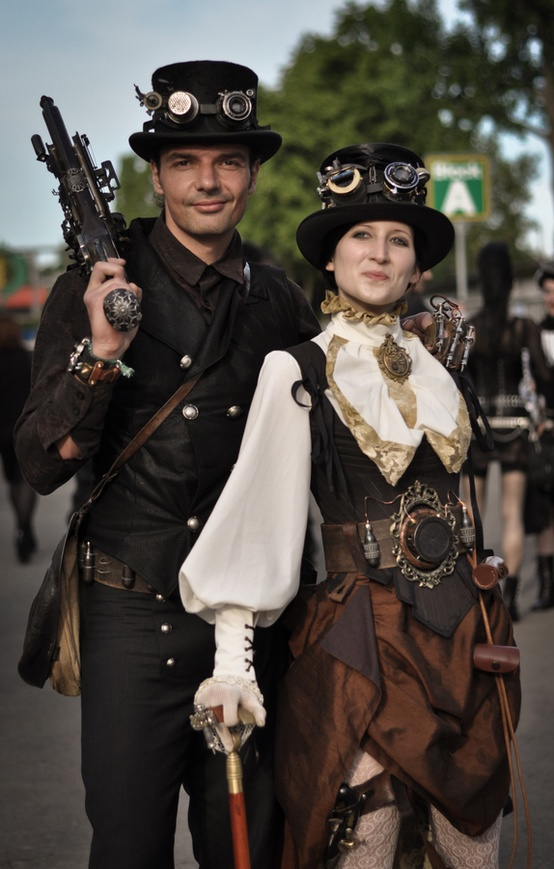 devilinspired steampunk dresses steampunk costumes representing aesthetic. Black Bedroom Furniture Sets. Home Design Ideas