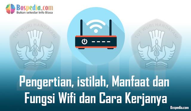 Pengertian, istilah, Manfaat dan Fungsi Wifi dan Cara Kerjanya