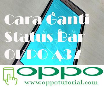 Cara Ganti Tampilan Icon Status Bar Oppo A37 Menjadi Keren Tanpa Root Oppotutorial