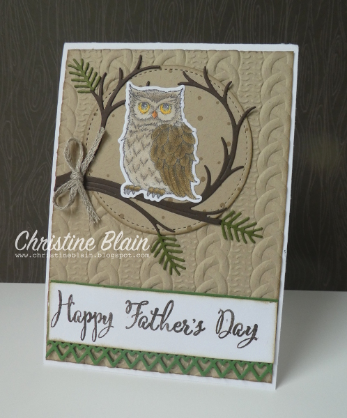 happy heart cards stampin up father s day card