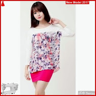JDB093 FASHION Flower So Batwing Perempuan BMGS