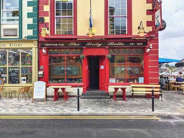 The Lady Belle Pub in Dungarvan Ireland