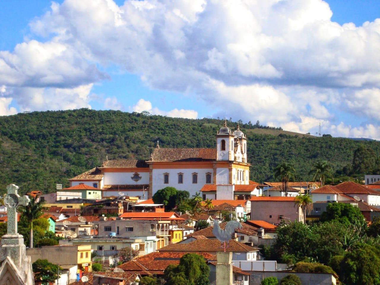 centro histórico Caeté - Estrada Real
