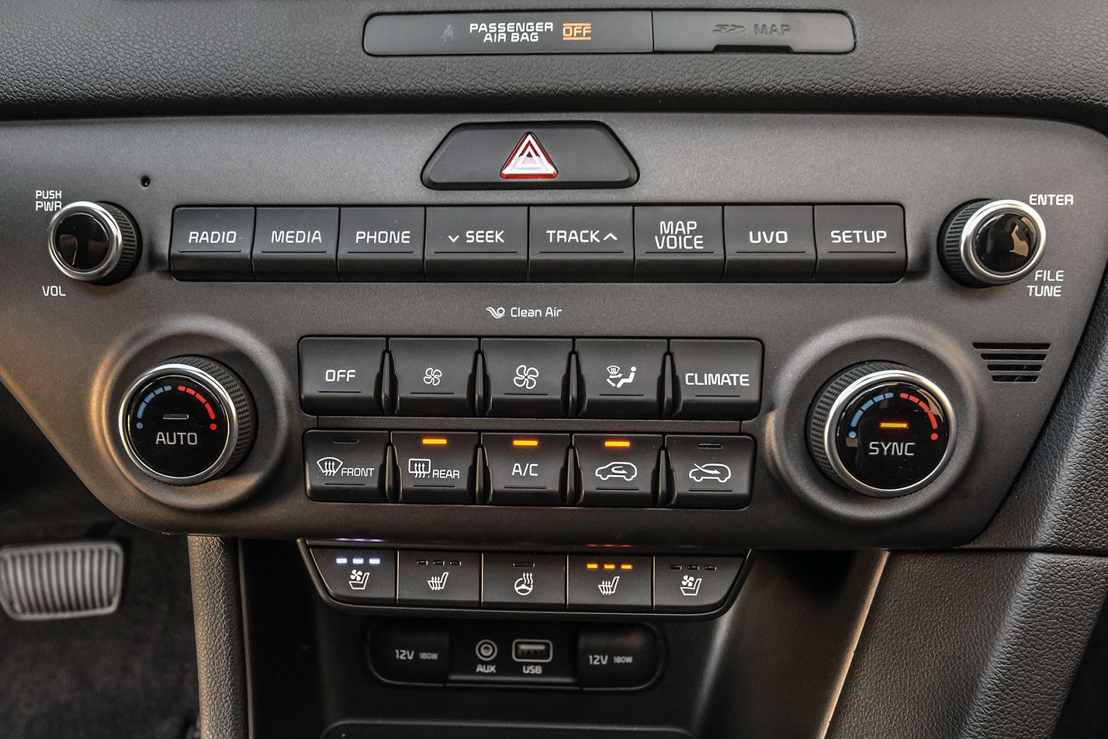 Đánh giá xe Kia Sportage 2017 - Nhiều cải tiến vượt bậc