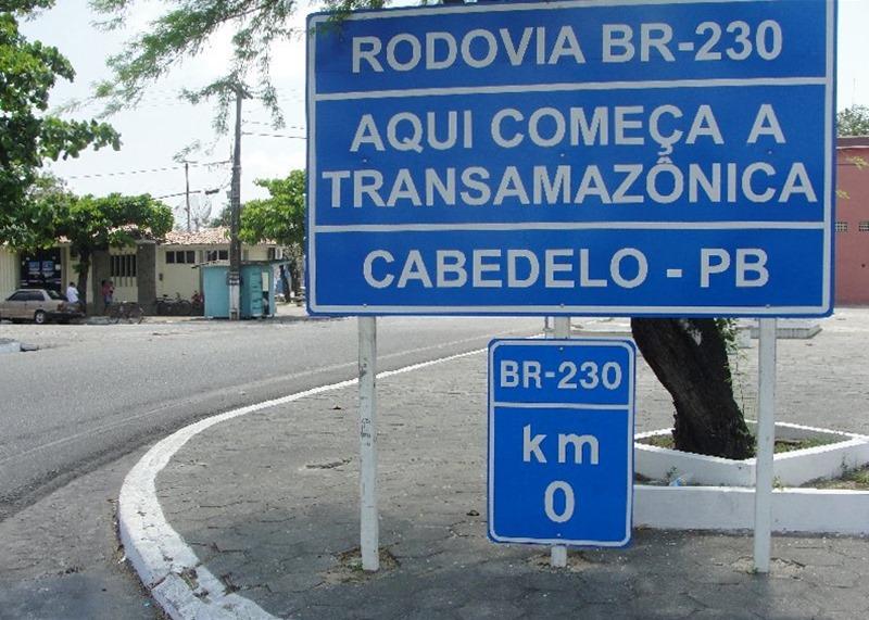 Marco Zero da Transamazônica, Cabedelo Paraíba