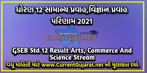 GSEB 12th Result 2021 Date & Time for Arts Commerce & Science