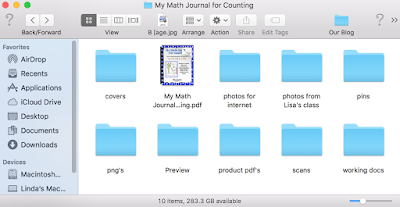 Save them into a folder within your product folder for use as images.