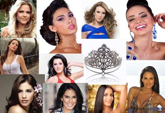 Favoritas del Miss Universos