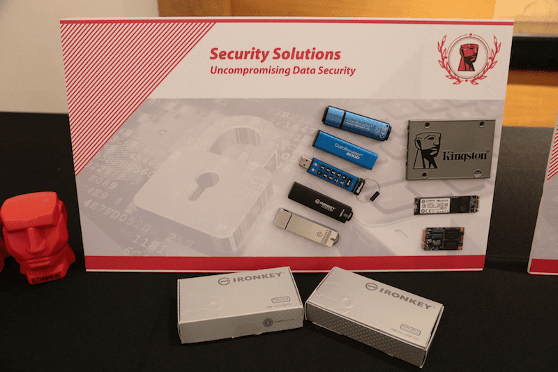 Kingston's security solutions