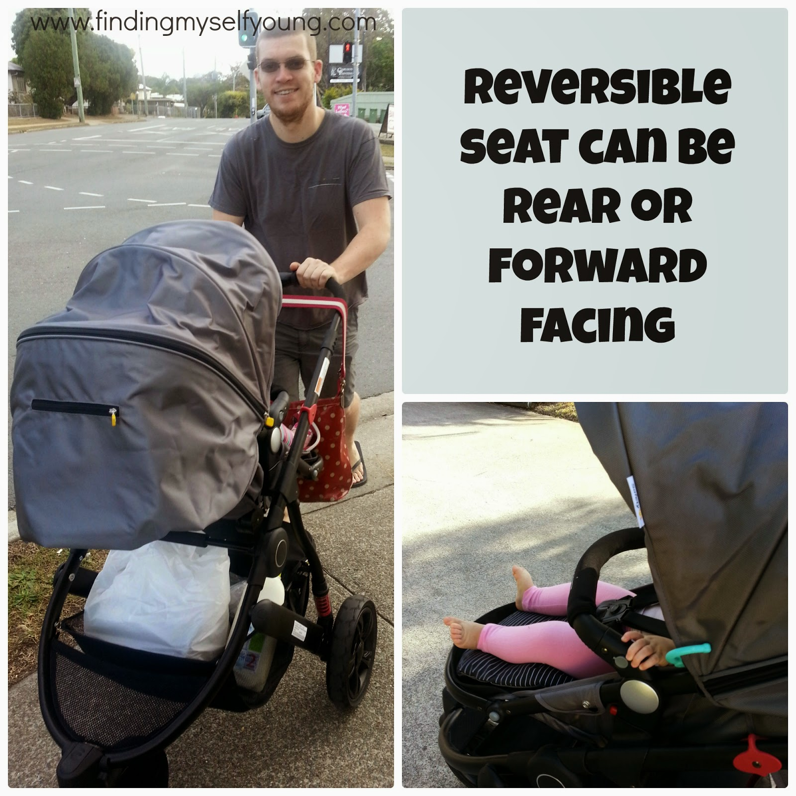 Safety 1st Wanderer pram reversible seat