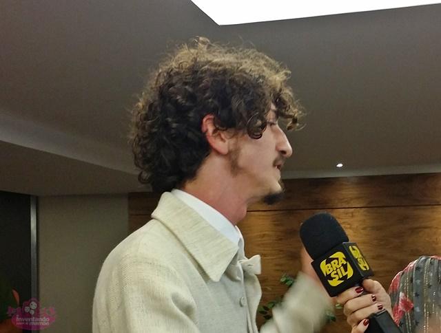 Jonnhy Massaro na pré-estreia do Filme da MInha Vida