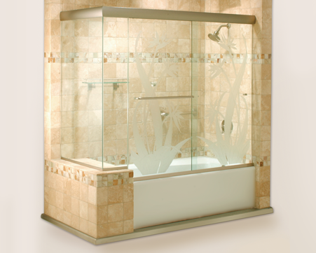 Cottage Series Sliding Shower Door