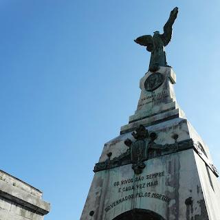 Jazigo-Monumento de Júlio Prates de Castilhos - Cemitério Santa Casa