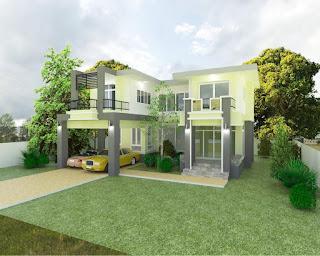 แบบบ้านสองชั้น พร้อมราคาก่อสร้าง