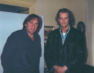 Gérard Depardieu and Klaus Guingand - 1995