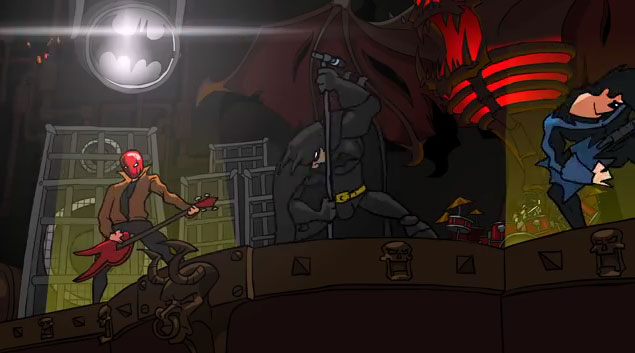 d49bd9a133a3 BATMETAL Animation by Red Medusa Animation Studio