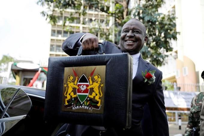 Kenya's finance minister, top officials arrested on graft charges