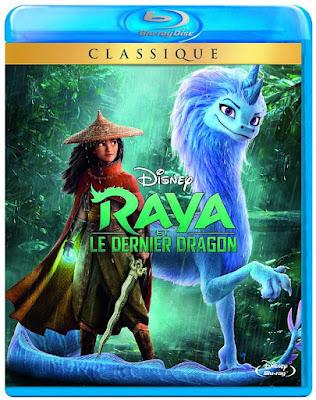 Raya et le dernier dragon Blu-ray Disney CINEBLOGYWOOD